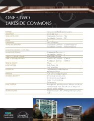 LAKESIDE COMMONS I & II FACTS & STATS