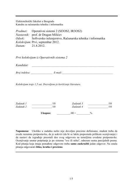 SI, IR Kolokvijum 1 - Septembar 2012.pdf - os.etf.bg.ac.rs
