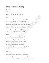 Hope Is Born This Night chords - Top Christian Lyrics