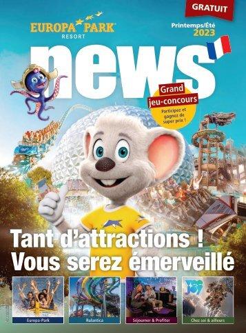 Europa-Park news (FR)