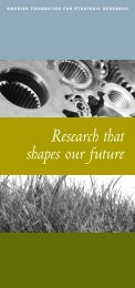 Research that shapes our future