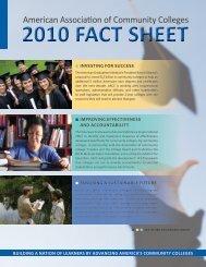 factsheet2010 - American Association of Community Colleges