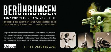 Flyer im PDF Format - Odeon Theater