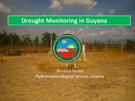 Future Plans for Drought Monitoring in Guyana