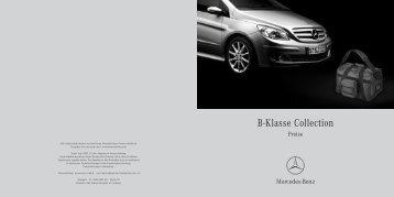 B-Klasse Collection - Mercedes-Benz Deutschland