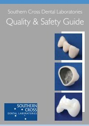 Quality & Safety Guide - Southern Cross Dental Laboratories