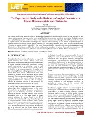 The Experimental Study on the Resistance of Asphalt Concrete with ...