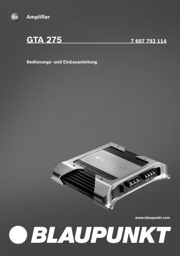 GTA 275 - Blaupunkt