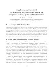 Supplementary Material B for - School of Physical and Mathematical ...