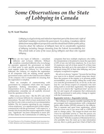an overview of a lobbyist Overview of southern company policies and practices for lobbying-related activities engagement in legislative and regulatory proceedings at the federal, state and local levels of.