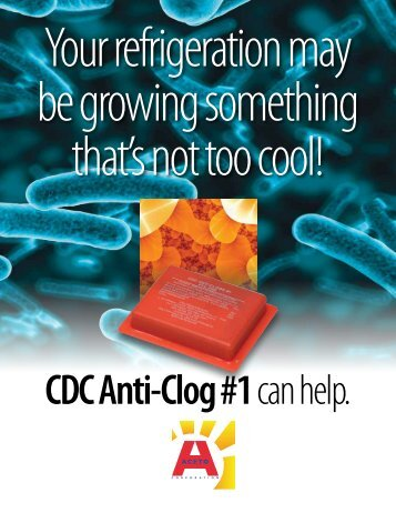 Anti-Clog#1 brochure from Aceto Corp. - NFMT