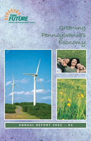 Greening Pennsylvania's Economy - PennFuture