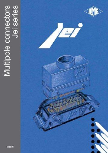 Multipole connectors Jei series - Ilme SpA