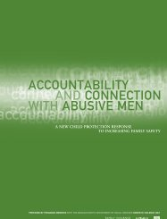 Accountability and Connection with Abusive Men - The Greenbook ...