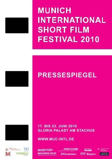 MUNICH INTERNATIONAL short film festival, München