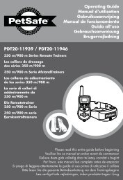 PDT20-11939 / PDT20-11946 Operating Guide ... - Petsystems.co.za