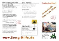flyer SH_Bus.cdr - Förderkreis Sumy-Hilfe eV
