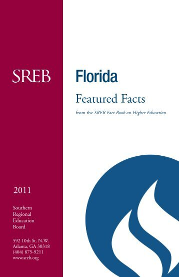 From the SREB fact book on higher education - Southern Regional ...