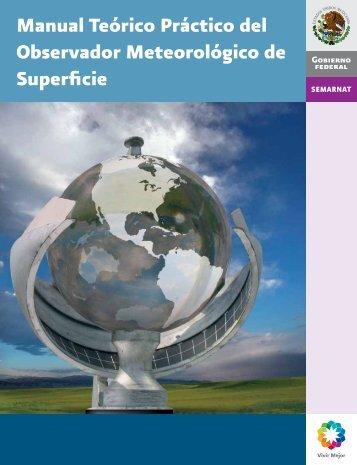 Manual Teórico Práctico del Observador Meteorológico de Superficie