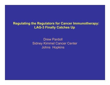 LAG-3 - Society for Immunotherapy of Cancer