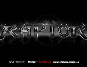 Raptor Brochure - RVUSA.com