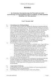 Richtlinie - Netzwerk Nachhaltige Stadtentwicklung Sachsen