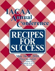 May 16-19, 2010 May 16-19, 2010 - Illinois Association of ...