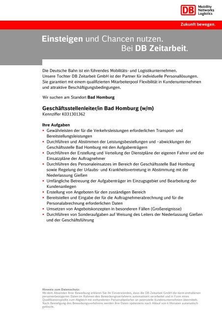 Arbeiten Bei Deutsche Bahn Bewerbung Einstieg Jobs 12