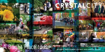 business improvement district 2010 annual report - Crystal City