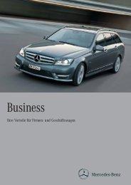 Business Mappe (PDF) - Mercedes-Benz Schweiz