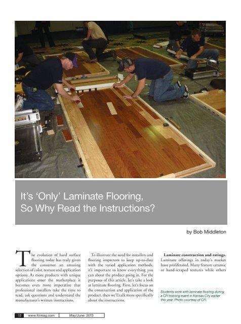 Why Read The Instructions - Lumber Liquidators