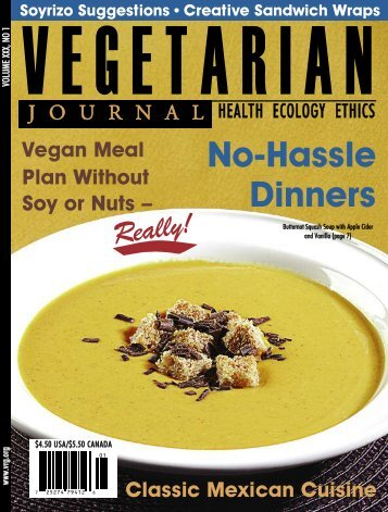 Issue 1 2010.qxd - The Vegetarian Resource Group