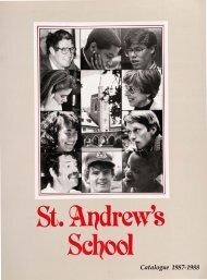 St. l1drew's Se 001 - Saint Andrew's School Archive - St. Andrew's ...