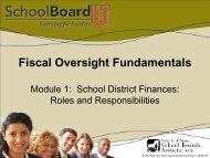 Fiscal Oversight Module 1 - New York State School Boards ...