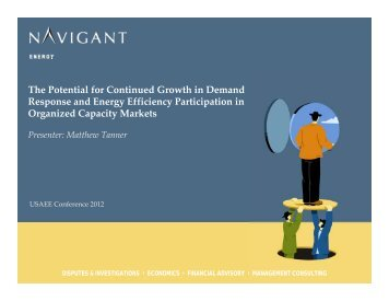 View Conference Presentation - United States Association of Energy ...