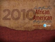 Untitled - South Carolina African American History Calendar