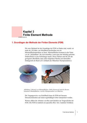 Kapitel 3 Finite Element Methode