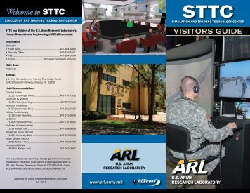 visitors guide - US Army Research Laboratory