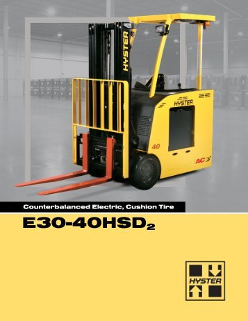 E30-40HSD2 - Hyster Company