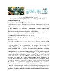 NOTA DE ENCERRAMENTO Lino Fernandes, Presidente da ... - Adi