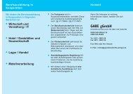 Infoflyer (160KB) - Jugendberufshilfe Solingen