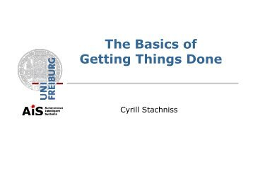 The Basics of Getting Things Done
