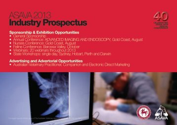 ASAVA 2013 Industry Prospectus - Australian Veterinary Association