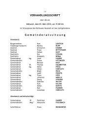 Protokoll GR-Sitzung 03_03_2010 - Die Grünen – Burgenland