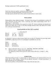 Routing z podsieciami i CIDR na platformie Linux Podsieć ... - Fatcat