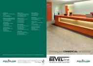 Bevel Line Product Brochure - Polyflor