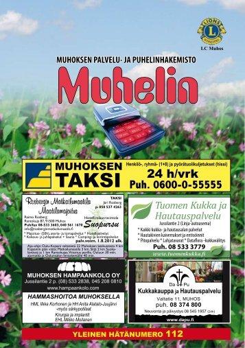 Muhos - Pudasjärvi-lehti ja VKK-Media Oy