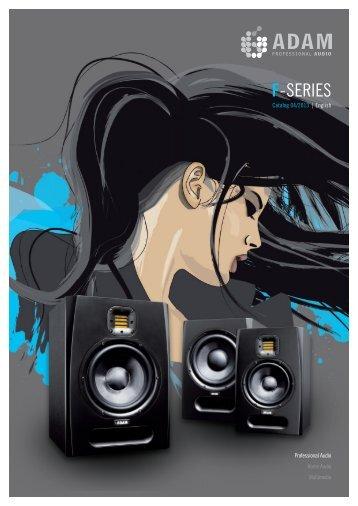 Catalogue F-Series 2013 (pdf 6 MB) - ADAM Audio