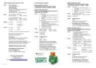 Meistervorbereitung Tischler Teil I und II Beratung und Information ...