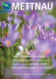 Exklusives Bodensee-Kulturerlebnis ... - METTNAU